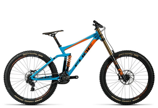 Mountainbike Cube TWO15 HPA SL 27.5 powderblue´n´flashred 2016