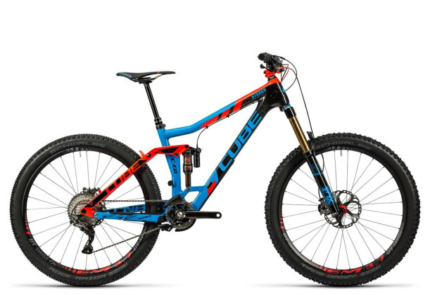 Mountainbike Cube Stereo 160 C:68 Action Team 27.5 action team 2016