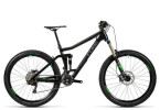 Mountainbike Cube Stereo 160 C:62 Race 27.5 carbon´n´green