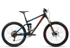 Mountainbike Cube Stereo 160 HPA Race 27.5 black´n´flashred´n´blue