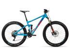 Mountainbike Cube Stereo 150 HPA SL 27.5+ blue´n´flashred