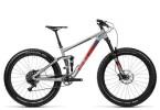 Mountainbike Cube Stereo 150 HPA Race 27.5+ grey´n´flashred