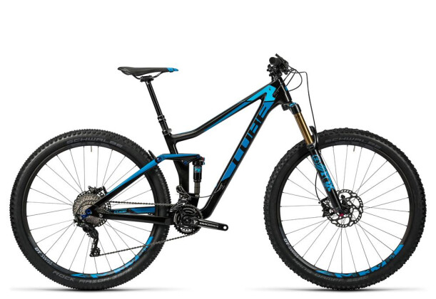 Mountainbike Cube Stereo 140 C:62 SL 29 carbon´n´blue 2016