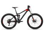 Mountainbike Cube Stereo 140 C:62 Race 27.5 carbon´n´flashred