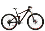 Mountainbike Cube Stereo 120 HPC SL carbon´n´flashred