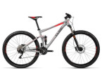 Mountainbike Cube Stereo 120 HPA Pro grey´n´flashred