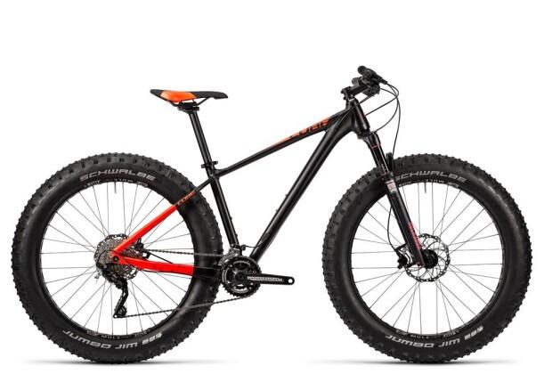 Mountainbike Cube Nutrail black´n´flashred 2016