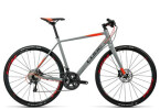 Crossbike Cube SL Road SL grey flashred