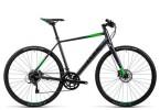 Crossbike Cube SL Road Pro grey black flashgreen