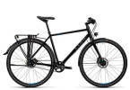Trekkingbike Cube Travel SL black grey flashblue
