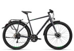 Trekkingbike Cube Travel Exc grey black flashgreen