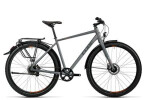 Trekkingbike Cube Travel Pro grey black spicy orange