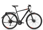 Trekkingbike Cube Delhi Exc black grey flashred