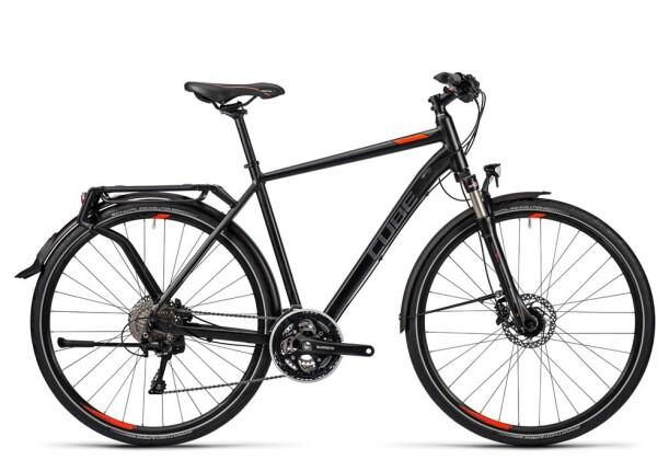 Trekkingbike Cube Delhi Exc black grey flashred 2016