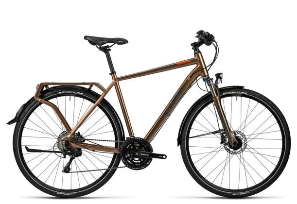 Trekkingbike Cube Delhi Pro havana brown 2016