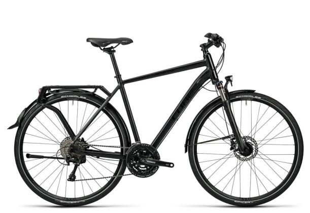 Trekkingbike Cube Delhi Pro black glossy 2016