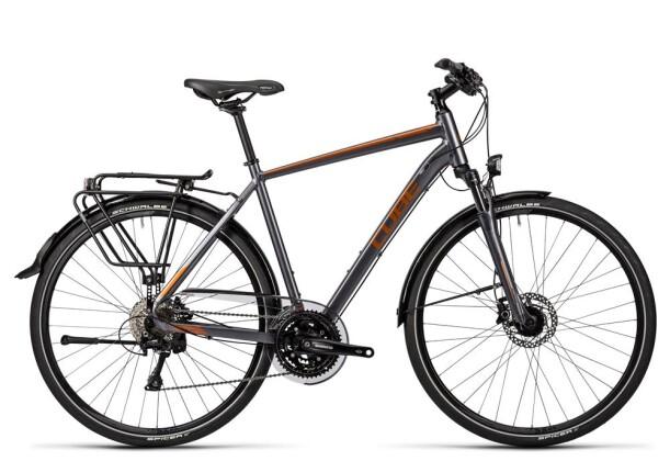 Trekkingbike Cube Touring SL grey black copper 2016