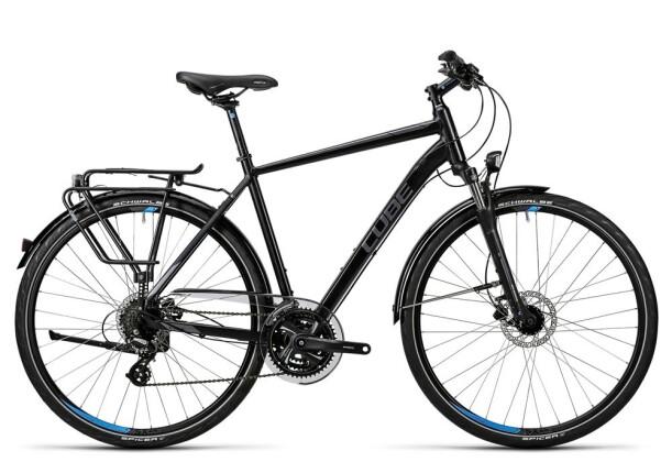 Trekkingbike Cube Touring Pro black grey blue 2016