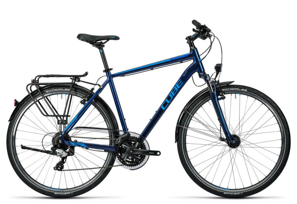 Trekkingbike Cube Touring midnight blue metallic 2016