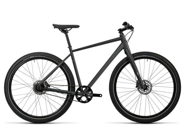 Crossbike Cube Hyde Pro black white 2016