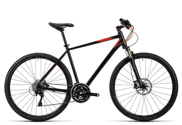 Crossbike Cube Tonopah Pro black glossy flashred 2016