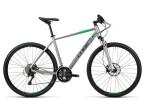Crossbike Cube Cross Pro silver grey green