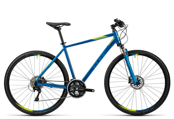 Crossbike Cube Cross blue kiwi 2016