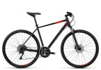 Crossbike Cube Cross black grey flashred
