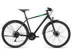 Trekkingbike Cube Nature Allroad black flashgreen grey