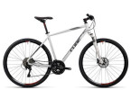 Crossbike Cube Nature Pro white black flashred