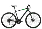 Crossbike Cube Nature black flashgreen grey
