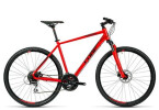 Crossbike Cube Curve Pro red black