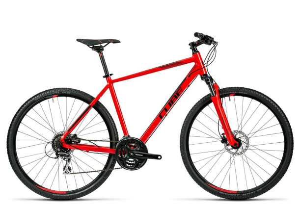 Crossbike Cube Curve Pro red black 2016