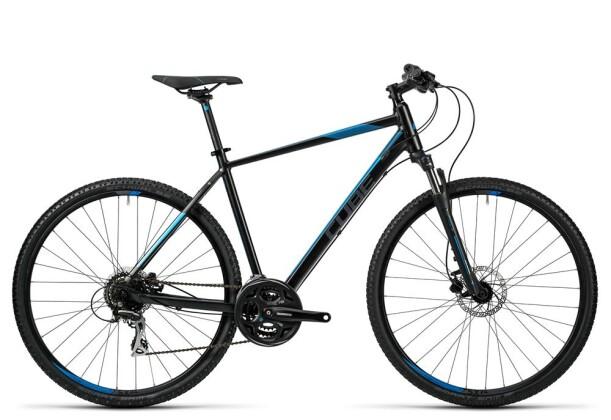 Crossbike Cube Curve Pro black grey blue 2016