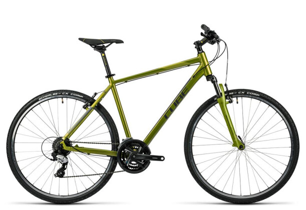Crossbike Cube Curve green grey green 2016