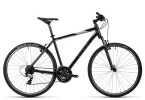 Crossbike Cube Curve black grey white