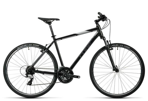 Crossbike Cube Curve black grey white 2016
