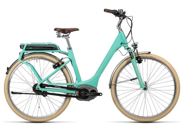 E-Bike Cube Elly Cruise Hybrid 400 mint´n´white 2016