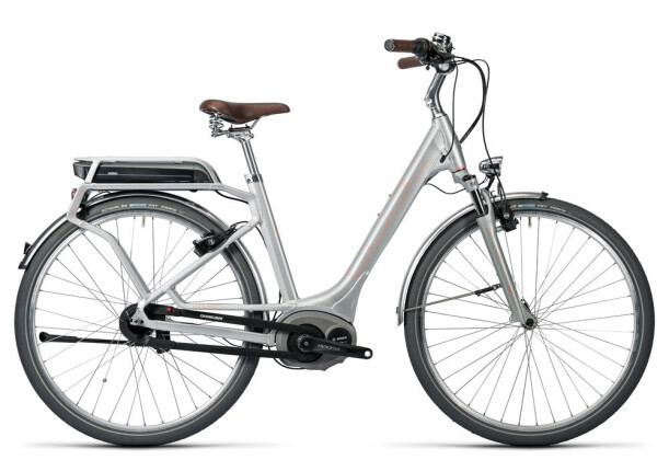 E-Bike Cube Elly Cruise Hybrid 400 silver´n´flashred 2016