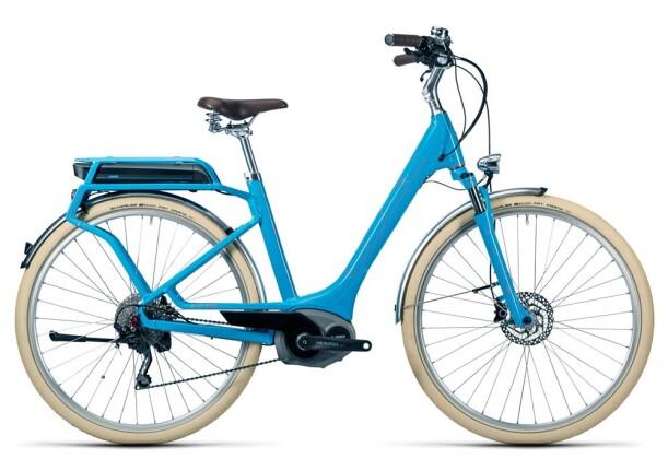 E-Bike Cube Elly Ride Hybrid 400 blue´n´flashred 2016