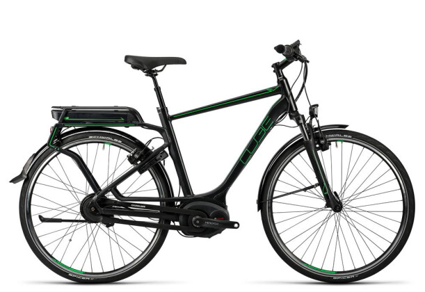 E-Bike Cube Delhi Hybrid Pro 500 glossy´n´flashgreen 2016