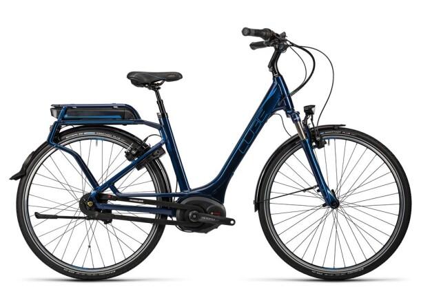 E-Bike Cube Travel Hybrid Pro 400 darkblue´n´flashblue 2016
