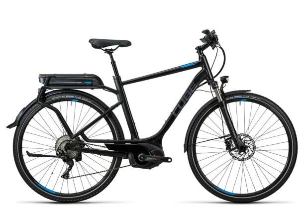 E-Bike Cube Touring Hybrid EXC 400 black´n´flashblue 2016