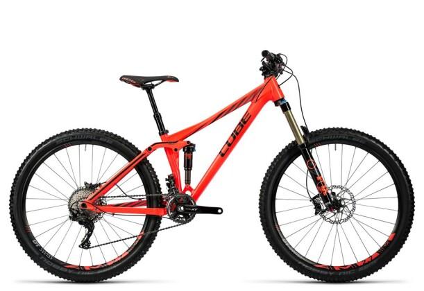 Mountainbike Cube Sting WLS 140 SL 27.5 coral´n´iridium 2016