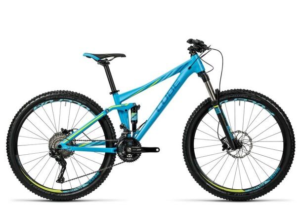 Mountainbike Cube Sting WLS 120 Pro reefblue´n´kiwi 2016