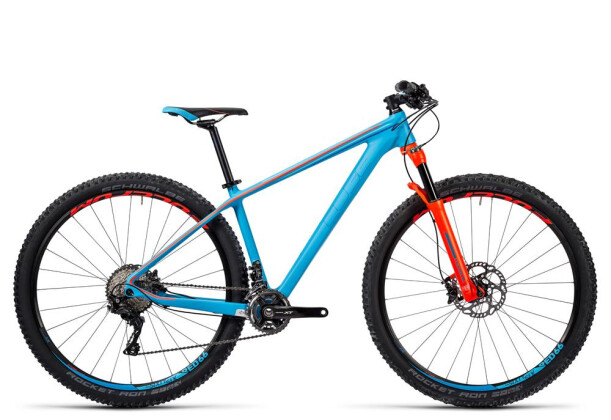 Mountainbike Cube Access WLS GTC SL reefblue´n´flashred 2016