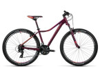 Mountainbike Cube Access WLS darkberry´n´coral