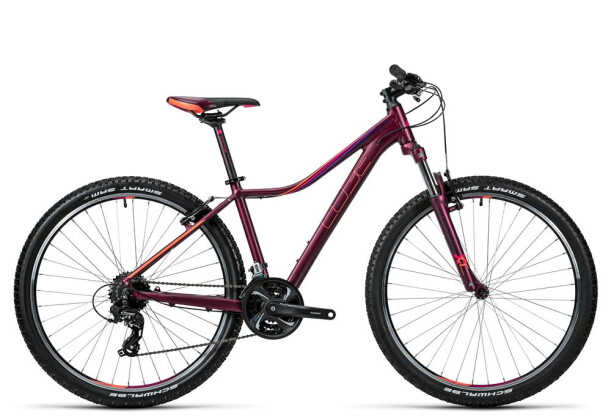 Mountainbike Cube Access WLS darkberry´n´coral 2016