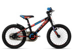 Kinder / Jugend Cube Kid 160 black´n´flashred´n´blue