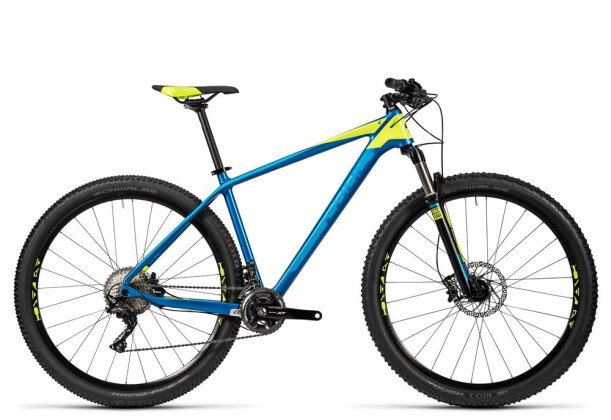 Mountainbike Cube Reaction GTC Pro 2x blue´n´kiwi 2016